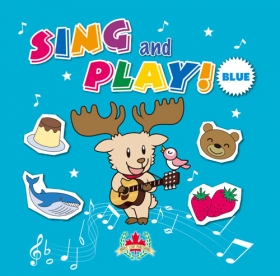 Sing and Play Blue Audio CD