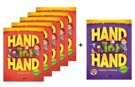 Hand in Hand Starter Student Book 5 Books set + Free Teacher's Manual