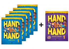 Hand in Hand 1 Student Book 5 Books set + Free Teacher's Manual