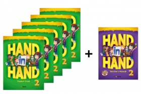 Hand in Hand 2 Student Book 5 Books set + Free Teacher's Manual