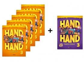 Hand in Hand 3 Student Book 5 Books set + Free Teacher's Manual