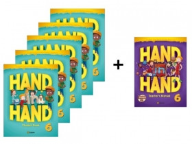 Hand in Hand 6 Student Book 5 Books set + Free Teacher's Manual