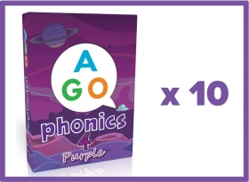 AGO Phonics Purple (Level 4) Set of 10 [AGO Card Game]