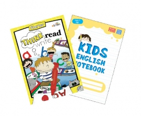 Think Read Write Starter Student Book (with CD) + Free Yellow Notebook