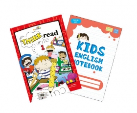 Think Read Write 1 Student Book (with CD) + Free Red Notebook