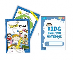 Think Read Write 2 Student Book (with CD) and TRW 2 Readers ≪2点セット≫ + Free Blue Notebook