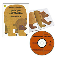 Brown Bear,Brown Bear,What Do You See? 大判絵本CDセット