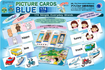 PICTURE CARDS BLUE w/CD
