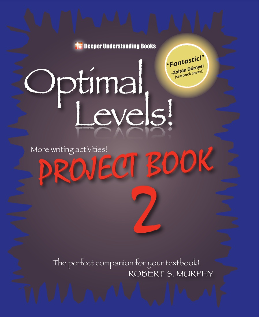 Optimal Levels!: Project Book 2