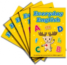 Everyday English 1 Workbook Pack (5 Books without CD)