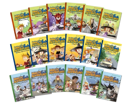 Magic Adventures Graded Comic Readers