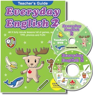 Everyday English 2 Teacher's Guide with CD-ROM and DVD (英語版)