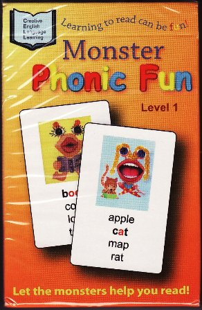 Monster Phonic Fun Card Game