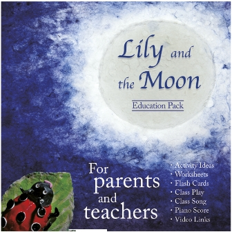 Lily and the Moon Education Pack 指導者用エンハンストCD (絵本は別売)