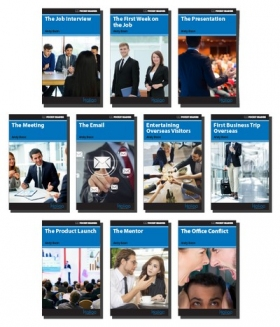 Pocket Readers Business Reader Series Set (10 Books)