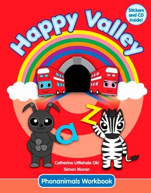 Happy Valley 1 Phonanimals Workbook with CD