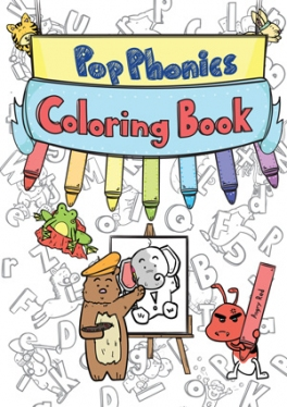 ABC Pop Phonics: Coloring Book