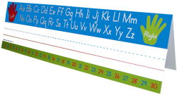 TCR Tented Name Plates (Left/Right Alphabet)