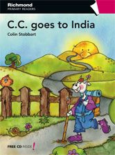 Richmond Primary Readers Level 4 CC Goes to India (with CD)