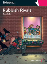 Richmond Primary Readers Level 6 Rubbish Rivals (with CD)