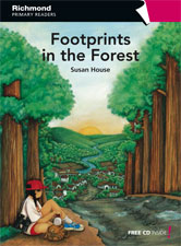 Richmond Primary Readers Level 6 Footprints in the Forest (with CD)
