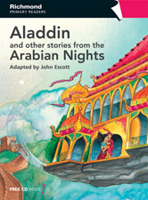 Richmond Primary Readers Level 5 Aladdin and Other Stories (with CD)
