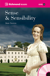 Richmond Readers Level 4 Sense and Sensibility (with CD)