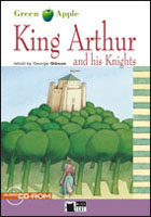 Black Cat Green Apple Step 2 King Arthur and his Knights Book with Audio CD/CD-ROM