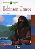 Black Cat Green Apple Step 1 Robinson Crusoe Book with Audio CD/CD-ROM