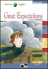 Black Cat Green Apple Step 1 Great Expectations Book with Audio CD