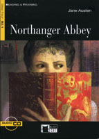 Black Cat Reading and Training Step 4 Northanger Abbey Book with Audio CD