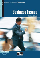 Black Cat Reading & Training Professional Step 3 Business Business Issues Book with CD