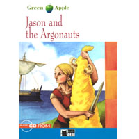Black Cat Green Apple Step 1 Jason and the Argonauts Book with Audio CD/CD-ROM