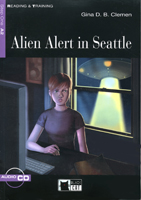 Black Cat Reading and Training Step 1 Alien Alert in Seattle Book with Audio CD