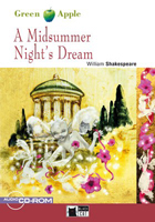 Black Cat Green Apple Step 1 A Midsummer Night\'s Dream Book with Audio CD/CD-ROM