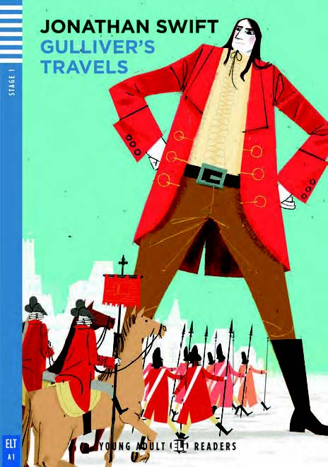 Young Adult ELI Readers 1: Gulliver's Travels (with CD)