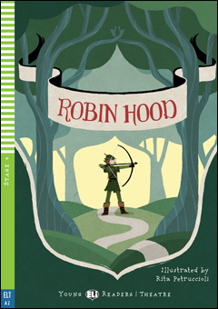 Young ELI Readers 4: Robin Hood (Play-script version) (with CD)