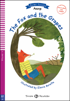 Young ELI Readers Fairy Tales 2: The Fox and the Grapes (with Multi-ROM)