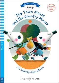 Young ELI Readers Fairy Tales 3: The Town Mouse and the Country Mouse (with Multi-ROM)