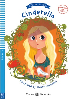 Young ELI Readers Fairy Tales 3: Cinderella (with Multi-ROM)