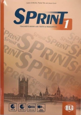 Sprint 1 Teacher\'s Book with 2 Class Audio CDs, Tests & Resources, Test maker Multi-ROM