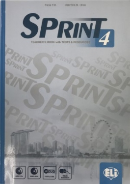 Sprint 4 Teacher's Book with 2 Class Audio CDs, Tests & Resources, Test maker Multi-ROM