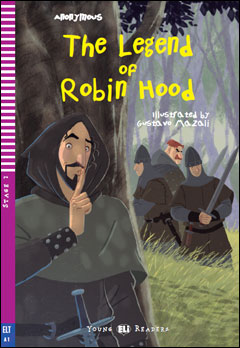 Young ELI Readers 2: The Legend of Robin Hood (with Downloadable MP3 Audio)