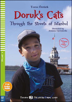 Young ELI Readers Real Lives 4 : Doruk's Cats (Multimedia with Video)