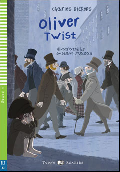 Young ELI Readers 4: Oliver Twist (with Downloadable MP3 Audio)