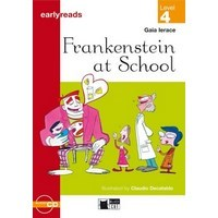 Black Cat Earlyreads 4 Frankenstein at School B/CD