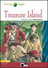 Black Cat Green Apple Step 2 Treasure Island Book with Audio CD
