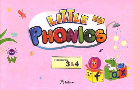 Little Phonics 3&4 Flash Cards (79 Cards)