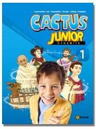 Cactus Junior 1 Student Book with Workbook and CD