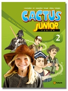 Cactus Junior 2 Student Book with Workbook and CD